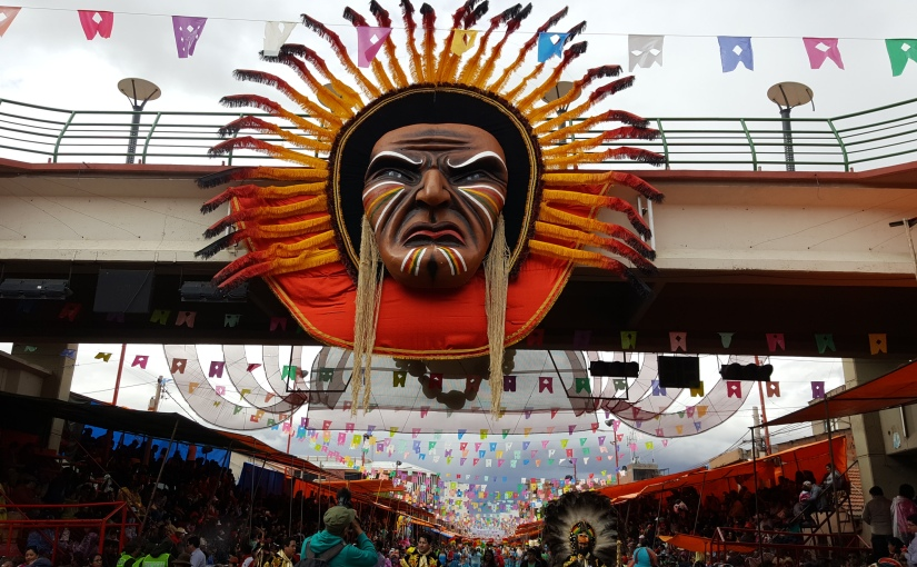 Carnaval in Oruro,Bolivien