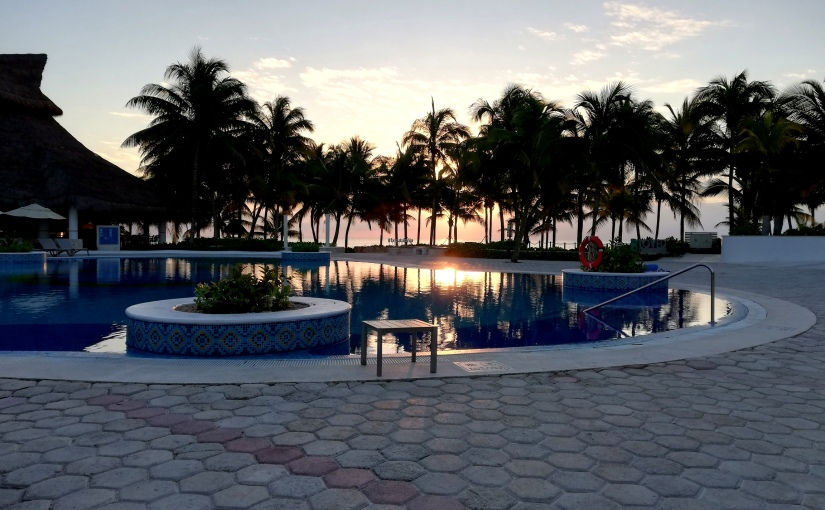 Sonne tanken inMéxico
